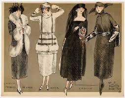 fashion illustration from la mode pour l u0027automne 1920 dessinee