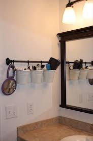 crafty bathroom organizer really awesome u0026 almost genius