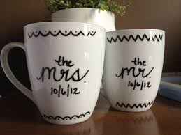 Personalized Mugs For Wedding 92 Best Wedding Images On Pinterest Ceramic Painting Wedding