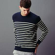 sweater mens mens 100 cotton breton sweater paul knitwear