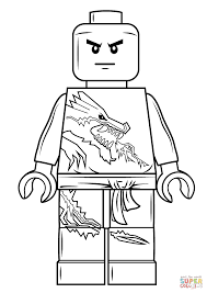 lego ninjago coloring pages to print lego ninjago zane coloring page free printable coloring pages