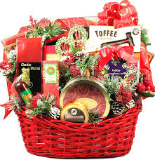 christmas baskets gift basket christmas party deluxe