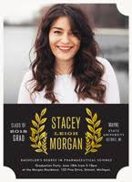 graduation photo announcements graduation invitations simply to impress