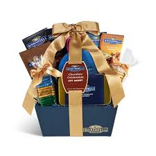 chocolate celebration gift basket ghirardelli