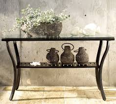 outdoor console table glass top outdoor console table console table outdoor console