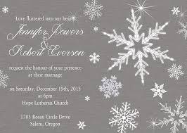 winter wedding invitations winter wedding invitations for the