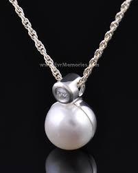 urn pendant evrmemories has silver pearl urn pendant keepsakes