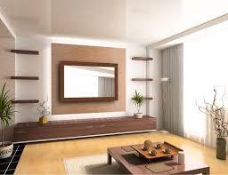 livingroom mirrors japanese architecture featuring mirror television