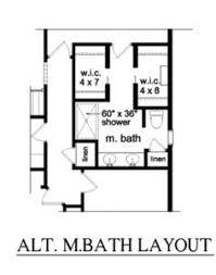 Small Bathroom Layout Plan Master Bath Layout Houzz House Plans Pinterest Master Bath