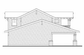 bungalow house plans garage w apartment 20 052 associated designs 5 car garage plan 20 052 left elevation
