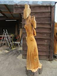 an amazing wood carving for the park the park kilnwick