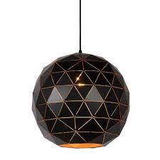 black and white pendant lights pendant light geometric light shade black gold white myplanetled