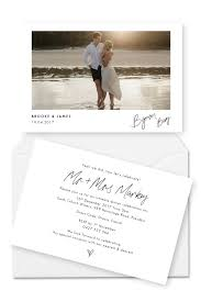 elopement announcements brides are going for these elopement announcements for the