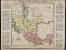 Unt Campus Map Mexico And Internal Provinces Prepared From Humboldt U0027s Map