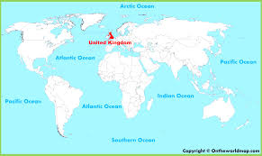 England On Map England On The World Map London And Besttabletfor Me For