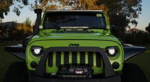 jeep black headlights 7 u2033 inch hid projector headlight set suits jeep wrangler jk u0026 tj
