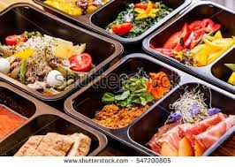 healthy food diet concept restaurant dish stock photo 547200805