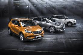 opel suv 2017 for individualists the new opel x range with the certain x tra