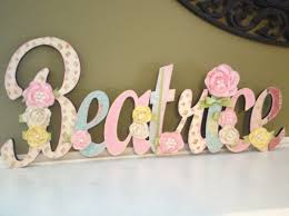 custom kids name sign nursery wall letters name sign wood wal