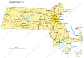 map of massachusetts counties massachusetts powerpoint map counties major cities and major