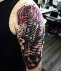 90 microphone tattoo designs for men tattoo pinterest