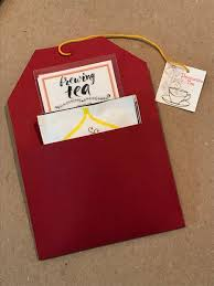 tea bag party favors tea party favors tea bag sleeves destination tea