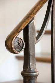 Railing Banister Love How Simple This Railing Is 3ft Wrought Iron Handrail Step