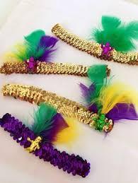 mardi gras headbands mardi gras headband new orleans headband carnival headband