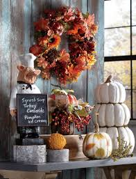 bring a touch of fall to your kitchen and dining room