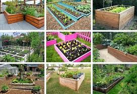 Raised Garden Bed With Bench Seating Wooden Garden Convenient Folding Foldaway Two Seat Hardwood Wooden
