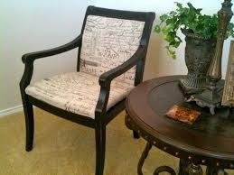 thrift store chair redo with ballard designs fabric and black thrift store chair redo with ballard designs fabric and black distressed finish