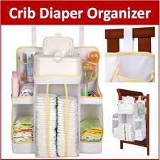 qoo10 bz hanging diaper bag organizer nursery anywhere cot crib