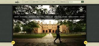 website homepage design 20 college university websites for design inspiration
