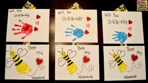 fish valentines valentines day and footprints will you o fish ally bee my