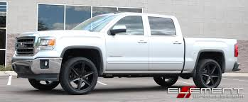 lifted white gmc gmc sierra wheels and tires 18 19 20 22 24 inch
