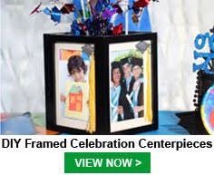 Diy Graduation Centerpieces graduation party ideas at dollartree com