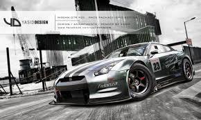 nissan gtr drag car nissan gtr r35 race package grid edition version by yasiddesign