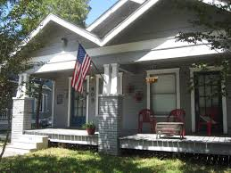 the other houston cozy bungalow porches