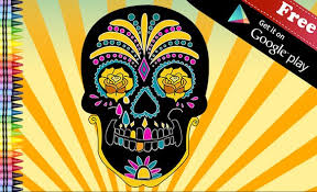 skull apk coloring sugar skull apk free puzzle for