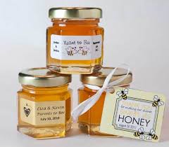 honey favors unique honey wedding favors tinton falls nj new jersey weddings
