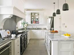 Stone Tile Kitchen Floors - top modern kitchen flooring materials small design ideas
