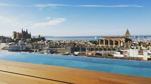 8 hotels with rooftop pools in palma de mallorca