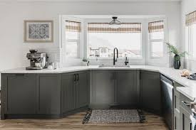 grey green kitchen cabinets modern olive green kitchen before after lemon thistle