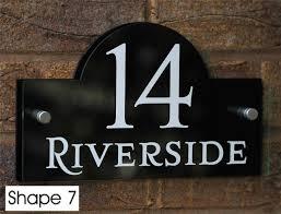 glass door number signs modern house number fonts u2013 modern house