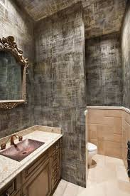 Small Bathroom With Walk In Shower Stainless Steel And Brown Tiles Wall Small Bathroom Walk In Shower