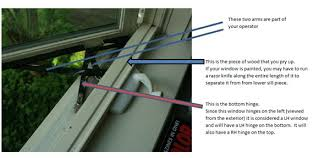 Awning Window Mechanism How To Replace A Casement Awning Operator For A Hurd Window Hurd