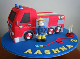 25 fire truck cakes ideas firefighter