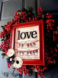 Valentine S Day Front Door Decor by 156 Best Valentine Porch Ideas Images On Pinterest Valentine