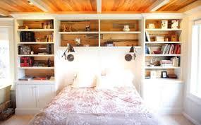 bookcase queen alder wood mckenzie storage bed with bookcase