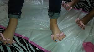 nail art spa party